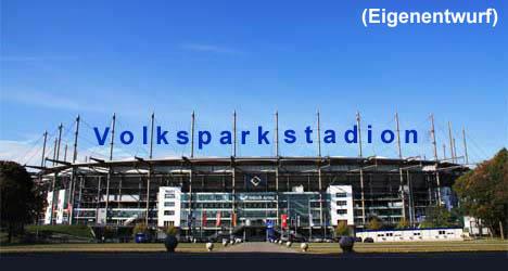 Parkplatz Volksparkstadion Hamburg