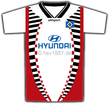 HSV HAMBURGER SV T-SHIRT SEIT 1887
